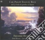 Bach C.p.e. - Abel cd musicale di C.p.e. Bach