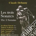 Debussy Claude - Sonata Per Violoncello E Pianoforte, Sonata Per Flauto, Viola E Arpa  - Naoumoff Emile  Pf/jean-pierre Rampal, Flauto Traverso, Marie cd musicale di Claude Debussy