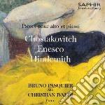 Sciostakovic Dmitri / Enescu George - Sonata Per Viola E Pianoforte Op.147  - Pasquier Bruno  Vla/christian Ivaldi, Pianoforte cd musicale di Dmitri Sciostakovic