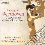 Opere per violoncello e pianoforte: sona cd musicale di Beethoven ludwig van