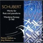 Opere per flauto e pianoforte cd musicale di Franz Schubert