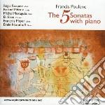 Cinque sonate per pianoforte cd musicale di Fran�is Poulenc