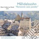 Romances sans paroles: opp.19, 30, 38, 5 cd musicale di Felix Mendelssohn