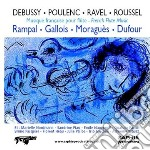 Debussy Claude / Roussel Albert - Musica Francese Per Flauto: Sonata Per Flauto, Viola E Arpa  - Rampal Jean-pierre  Fl/sandrine Piau, Soprano, Patric cd musicale di Claude Debussy