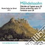 Mendelssohn Felix - Preludi E Fughe Op.35, Pieces Enfantines Op.72, Fantasia Op.28 cd musicale di Felix Mendelssohn