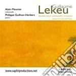 Lekeu Guillaume - Sonata Per Violoncello E Pianoforte cd musicale di Guillaume Lekeu