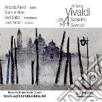 Vivaldi Antonio - Le Quattro Stagioni  - Favier Amanda  Vl/quatuor Alma, Axel Salles, Contrabbasso, Joël Pontet, Clavicembalo cd musicale di Antonio Vivaldi