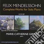 Opere per pianoforte (integrale) cd musicale di Felix Mendelssohn