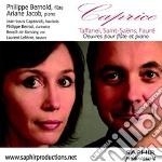 Caprice, opere per flauto e pianoforte - cd musicale di Camille Saint-sa-ns