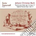 Sonate per tastiera opp.5 e 17 cd musicale di Bach johann christi