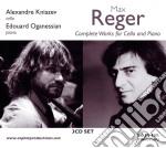 Opere per violoncello e pianoforte (inte cd musicale di Max Reger