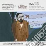 Debussy Claude / Louvier Alain - Six Epigraphes Antiques, Sonata Per Flauto, Viola E Arpa  - Gallois Patrick  Fl/pierre-henri Xuereb, Viola, Fabrice P cd musicale di Claude Debussy