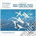 Crèations  - Trio Saxiana cd musicale di Miscellanee