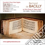 Bertrand de bacilly ou l'art d'orner le cd musicale di Bacilly bertrand de