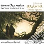 Opere per organo (integrale) cd musicale di Johannes Brahms