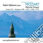 Mozart - Alla Turca  - Sakharov Vadim  Pf cd musicale di Wolfgang ama Mozart