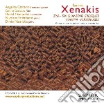 Xenakis Iannis - Zyia, Persephassa, 6 Chansons Grecques, Psappha cd musicale di Iannis Xenakis