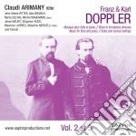 Les fl�tes de la glorie, voll.2 e 3 cd musicale di Doppler franz & karl