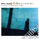 Luciano Berio / Pierre Boulez - Chemins Iv, 9 Duo, Recit  - David Vincent  Sax/ensemble Quaerendo Invenietis cd musicale di Luciano Berio