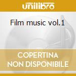 Film music vol.1 cd musicale di Gabriel Yared