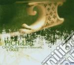 Pachelbel Johann - Canone E Giga, Musikalische Ergotzung, Partie A 4, Partie A 5 cd musicale di Johann Pachelbel