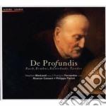 DE PROFUNDIS (MUSICA SACRA PER BASSO ED cd musicale