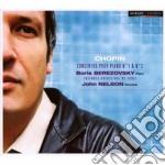Chopin Fryderyk - Concerti Per Pianoforte Nn.1 E 2 cd musicale di Fryderyk Chopin