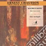 Chausson Ernest - Trio Con Pianoforte Op.3 cd musicale di Ernest Chausson