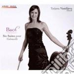SIX CELLO SUITES BWV 1007-1012            cd musicale di Johann Sebastian Bach