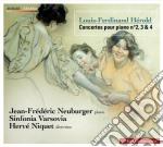 Hérold Louis Ferdinand - Concerto Per Pianoforte N.2, N.4 cd musicale di H+rold louis ferdina