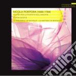 Porpora Nicola Antonio - Vespro Per La Festività Dell'assunta cd musicale di Porpora nicola anton