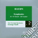 Cleveland Or/szell - Haydn/symphonies 88-92-104 cd musicale di Szell