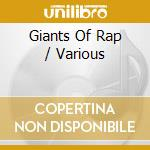Giants of rap cd musicale
