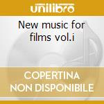 New music for films vol.i cd musicale di Christopher Franke