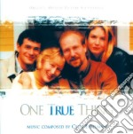 One true thing cd musicale di Cliff Eidelman