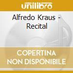 Recital cd musicale di Alfredo Kraus
