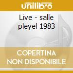 Live - salle pleyel 1983 cd musicale di Stephane Grappelli