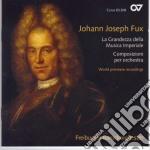 La grandezza della musica cd musicale di J.j. Fux