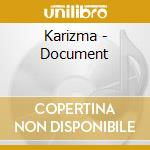 DOCUMENT cd musicale di KARIZMA (VINNIE COLA