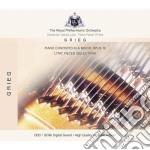 Grieg piano concerto cd musicale di Orch. R.philarmonic