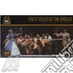 Great voices of the opera ii cd musicale di Artisti Vari