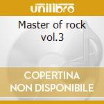 Master of rock vol.3 cd musicale