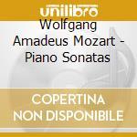 PIANO SONATAS                             cd musicale di MOZART