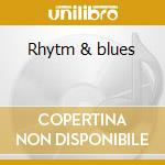 Rhytm & blues cd musicale