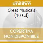 Musicals -10cd- cd musicale di Artisti Vari