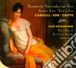 Romantic Guitar Duets From Paris cd musicale di Carulli