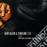 Geri Allen - Timeline - Live cd musicale di Timeline Allen geri