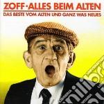 Alles beim alten cd musicale di Zoff