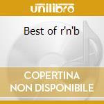 Best of r'n'b cd musicale