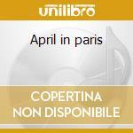 April in paris cd musicale